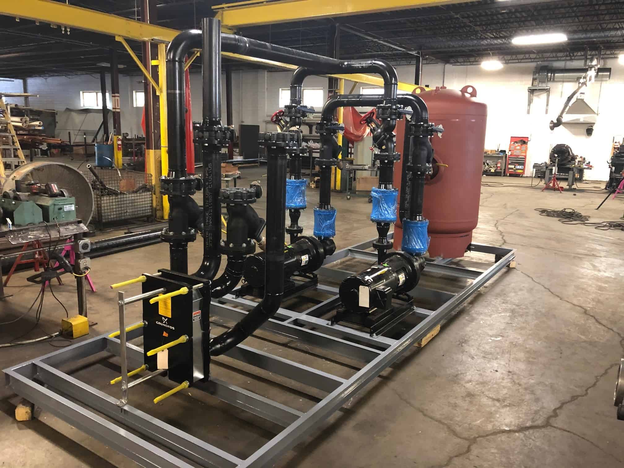 MSD Fabricates Marzetti Pump Package